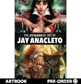 The Dynamite Art of Jay Anacleto
