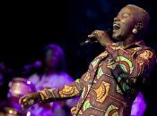 Singer and activist Angelique Kidjo performs in Spain.