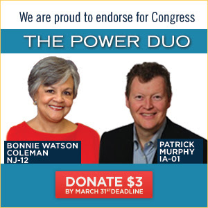 Power Duo! 2 bold progressive endorsements.