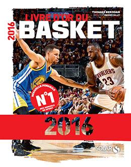 Couverture : Livre d'or du basket 2016