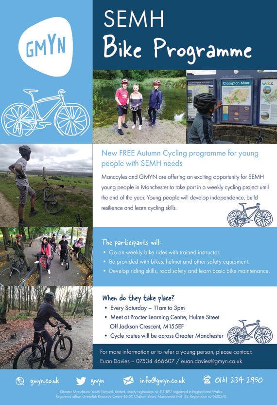 Bike programme poster