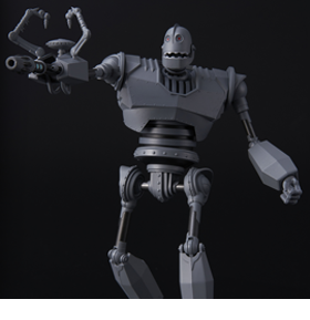 RIOBOT IRON GIANT (BATTLE MODE)