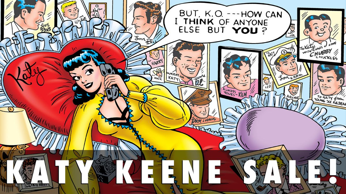 Katy Keene Comics Sale!