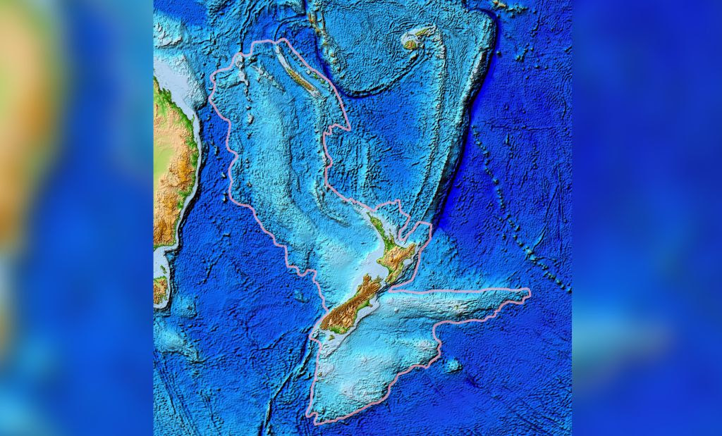 The lost continent of Zealandia hides clues to the Ring of Fire's birth