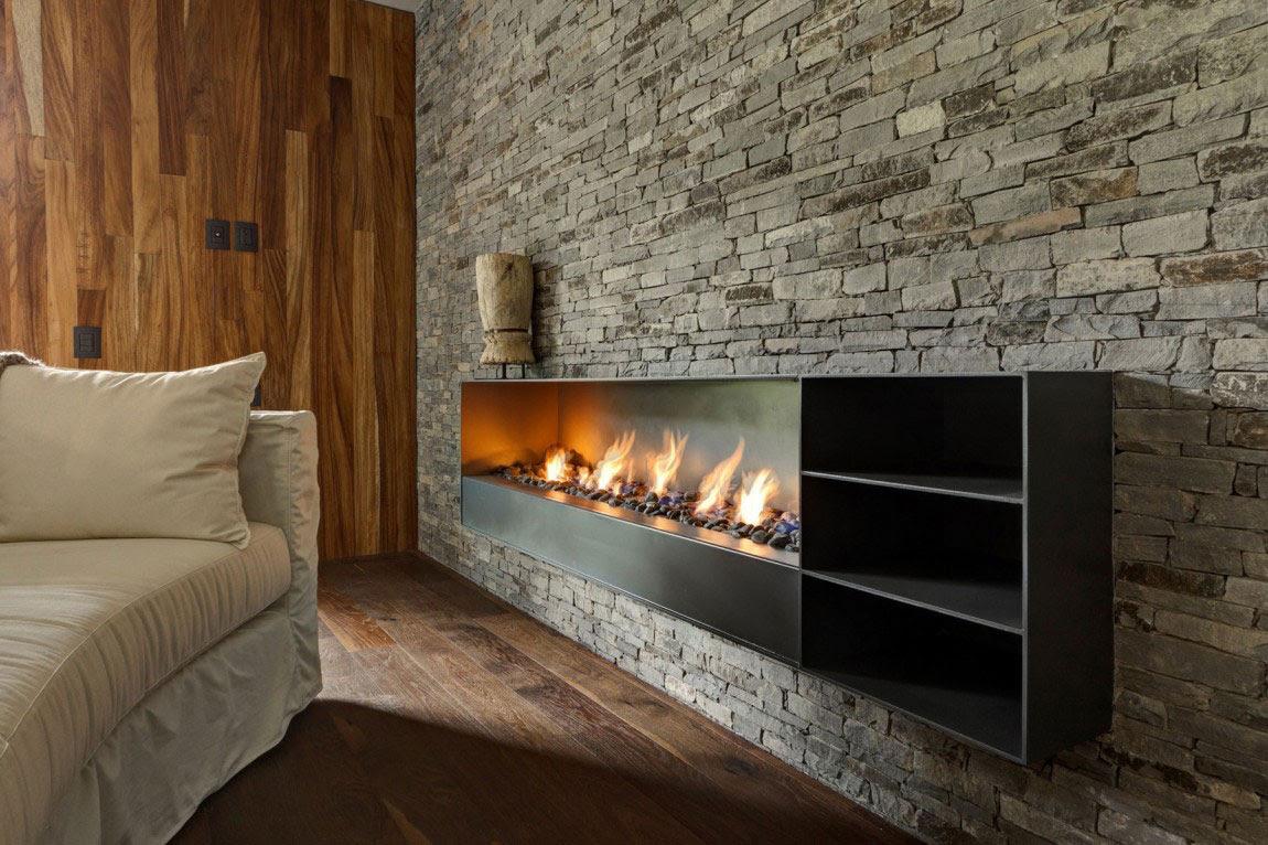 Όμορφη Casa ΜΜ με ένα σύγχρονο σχέδιο που δημιουργείται από τον Ηλία Ρίζο Arquitectos (19)