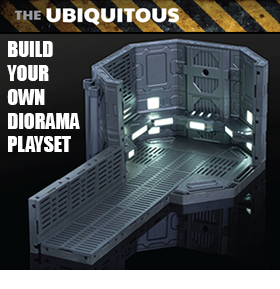THE UBIQUITOUS UB-01LS DIORAMA SET