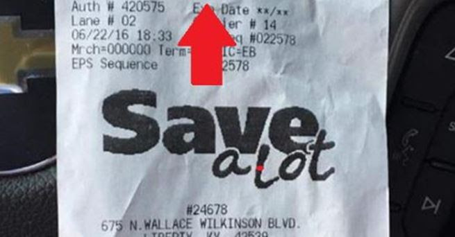 ALERT: Obama Welfare Leech Drops Receipt In Parking Lot, Internet ERUPTS At What It Exposes…