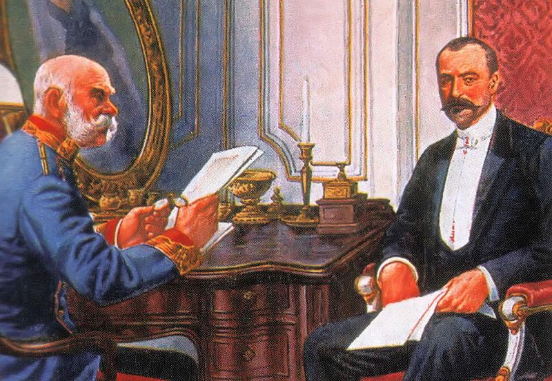 Fájl:Ferenc Jozsef es Tisza Istvan.jpg