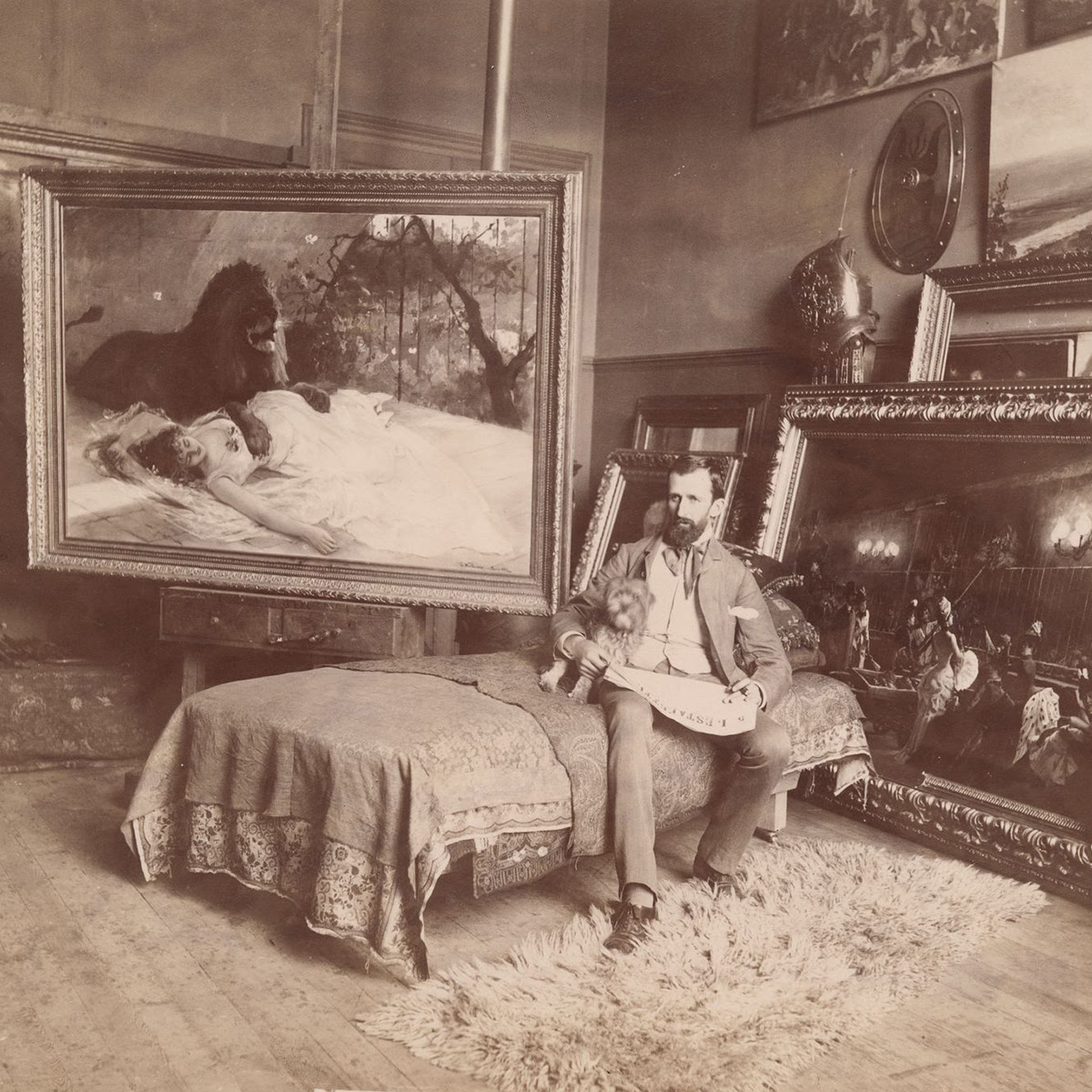 Photograph of Gustave Wertheimer