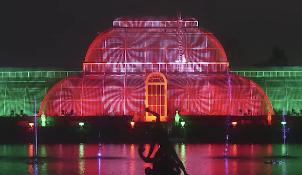 Winter activities for families: Christmas at Kew Gardens