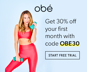 Obé Fitness - FREE Trial + 30% OFF [439556]