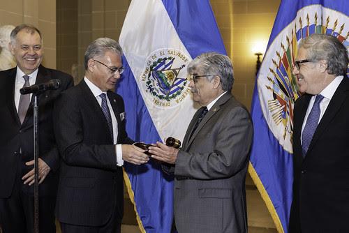 El Salvador asume la presidencia del Consejo Permanente de la OEA