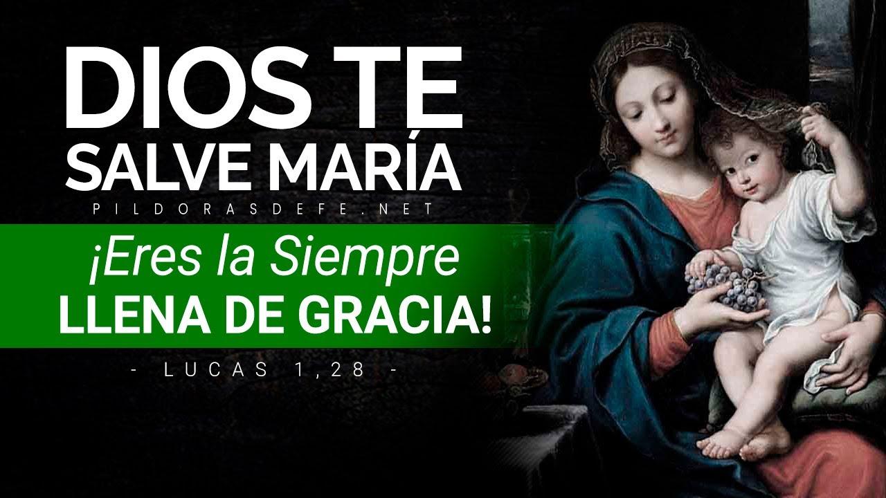 ¡DIOS TE SALVE MARà A llena Eres de Gracia! (Natividad de la Virgen María)