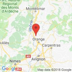 Image result for nimes vin de pays vaucluse map