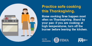 Practice safe cooking this Thanksgiving