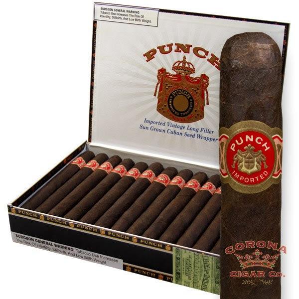 Image of Punch Pitas Maduro Cigars
