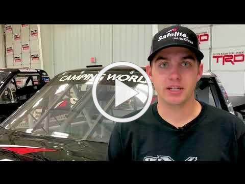 Noah Gragson Las Vegas Q&A