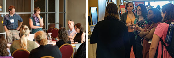Photos of 2016 Distance Teaching & Learning Conference in action