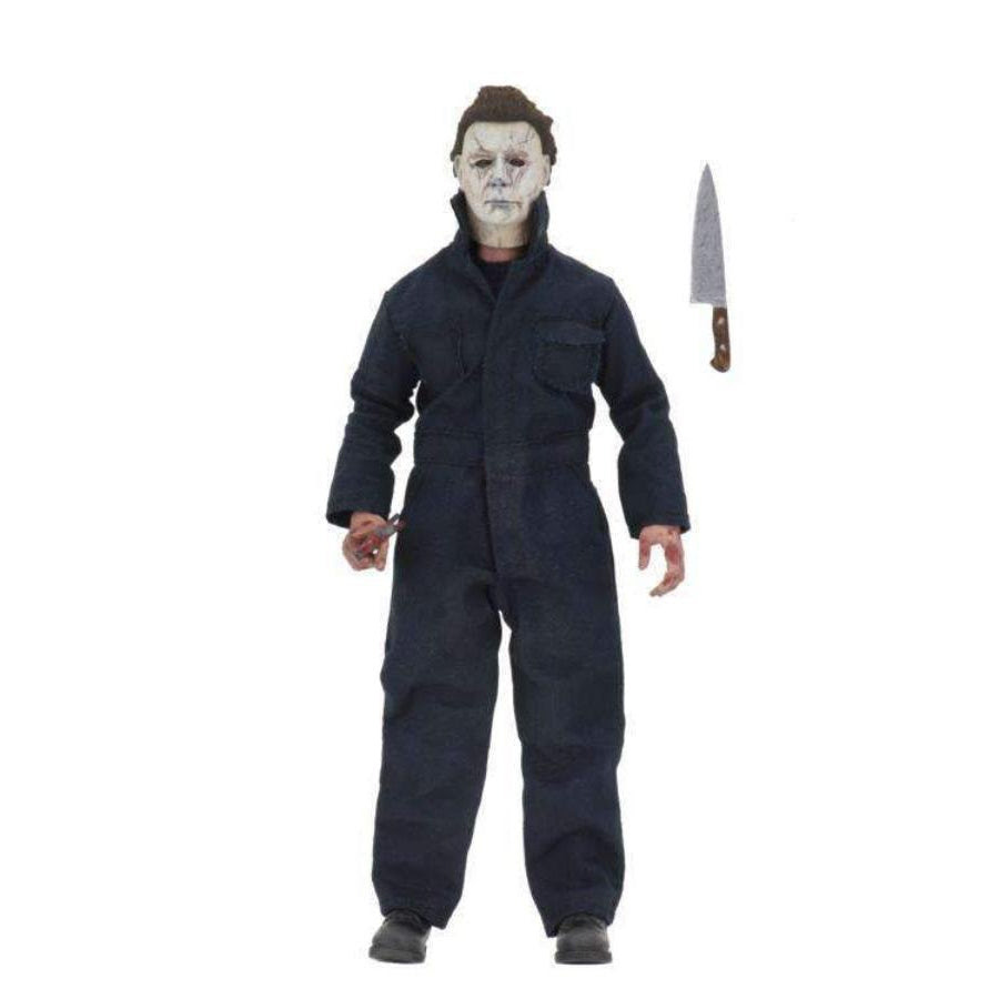 "Image of Halloween 8"" Clothed Deluxe Michael Myers Figure"