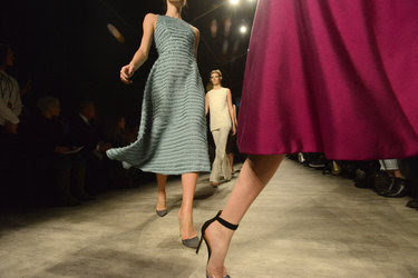 Models walked the runway at a show for the designer Lela Rose during New York Fashion Week last year.