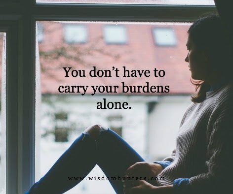 Freedom From Carrying Your Own Burdens