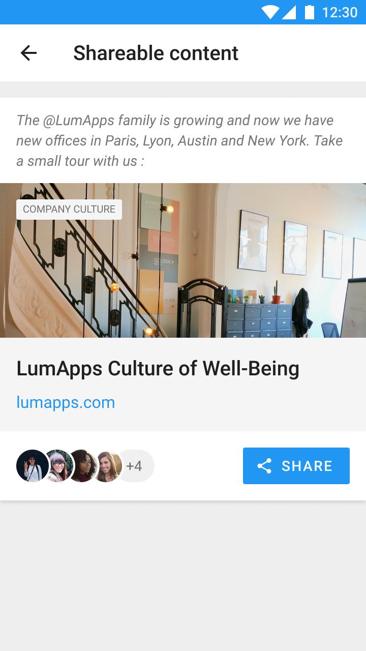 Lumapps promo