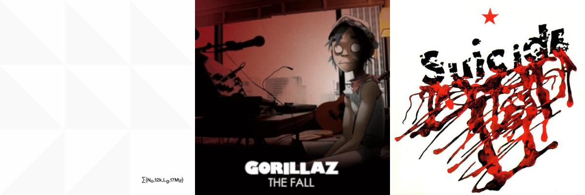 Newsletter 12/07/19 ft: New Order | Gorillaz | Tycho | Suicide