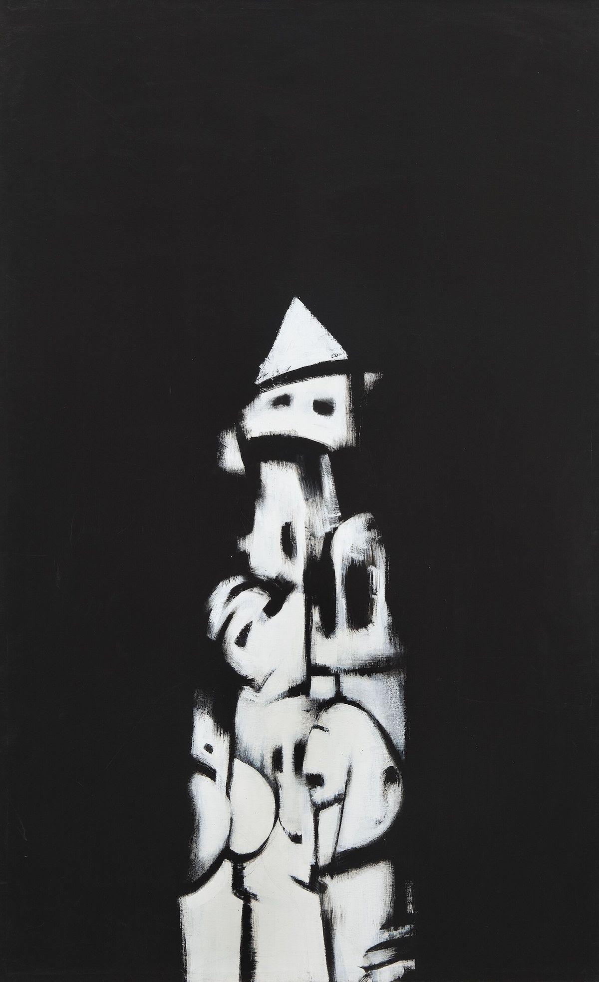 Norman Lewis, American Totem, 1960.