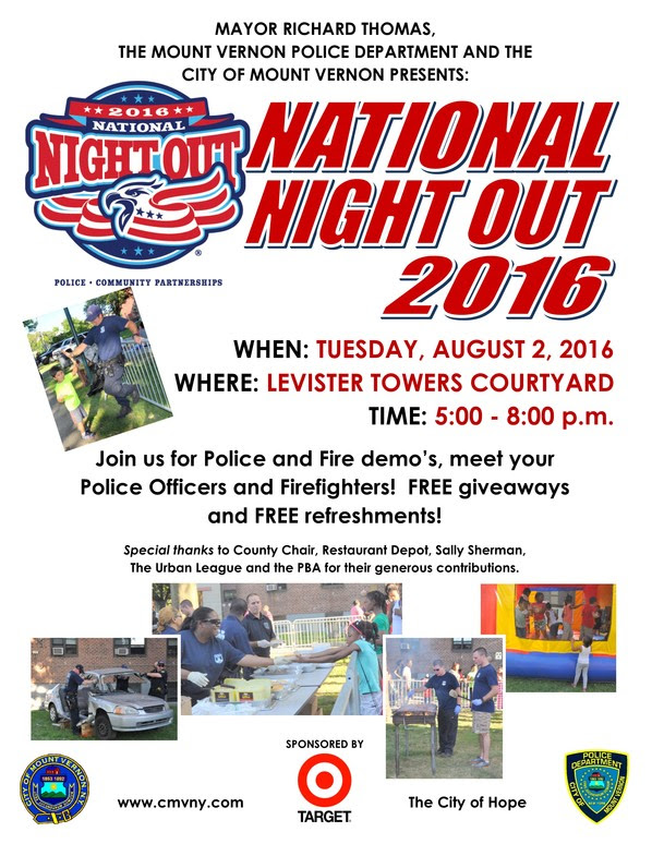 2015 NATIONAL NIGHT OUT - MVPD