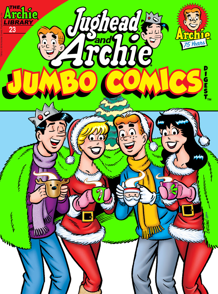 Jughead and Archie Jumbo Comics Digest #23 Cover