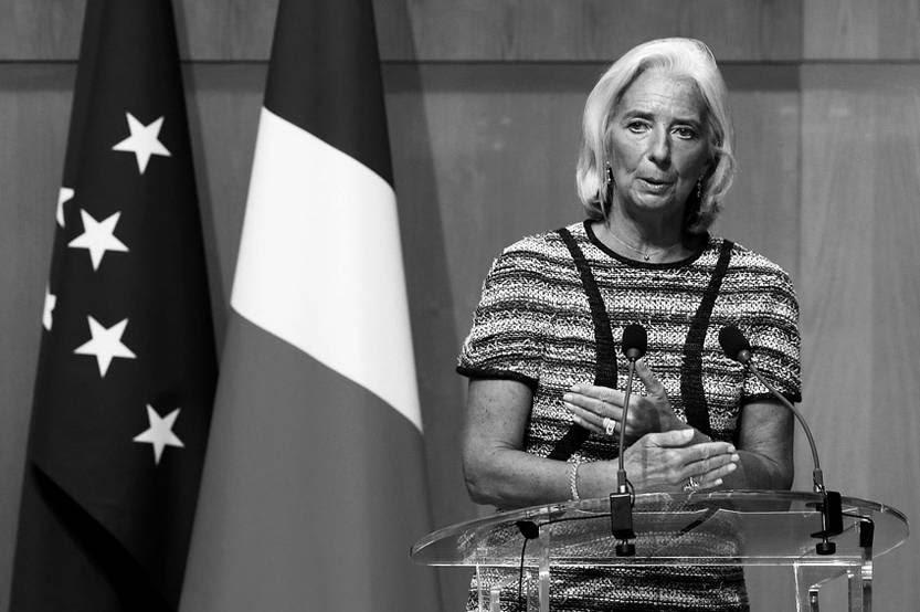 Christine Lagarde, directora gerente del Fondo Monetario Internacional (FMI), durante un seminario en París (Francia). / Foto: Christophe Karaba, Efe (archivo, setiembre de 2013)