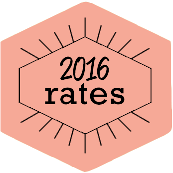 2016 Rates