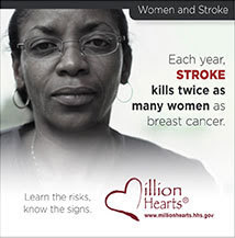 Each year, stroke kills twice as many women as breast cancer. Learn the risks, know the signs.
