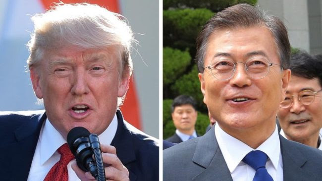South Korean President: Trump 'Should Win the Nobel Peace Prize'