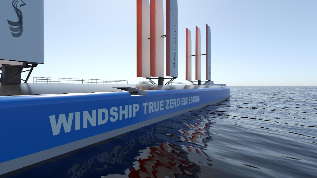 Windship Technology secures coveted Approval in Principle for innovative triple-wing design from DNV.