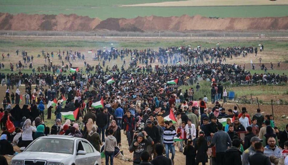Gaza mob