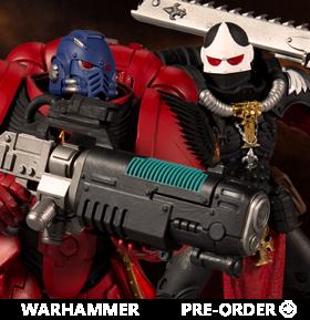 Warhammer 40,000 Ultramarine Primaris Hellblaster & Adepta Sororitas Battle Sister