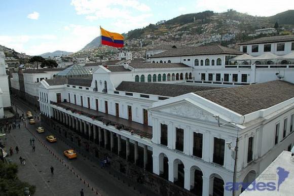 Sede del gobierno, Ecuador