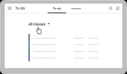 Click All classes