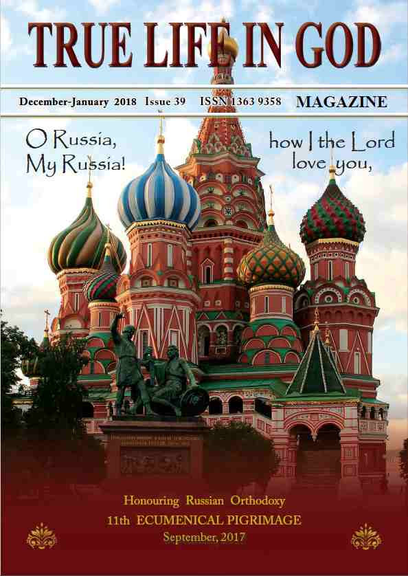 Revista sobre la Peregrinación a Rusia