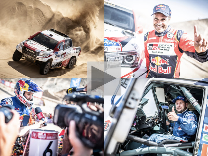 History books are rewritten on final stage of 2019 Silk Way Rally