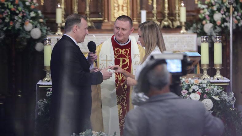Ślub Jacka Kurskiego w Łagiewnikach. Zgodę wyrażono na polecenie abpa Jędraszewskiego