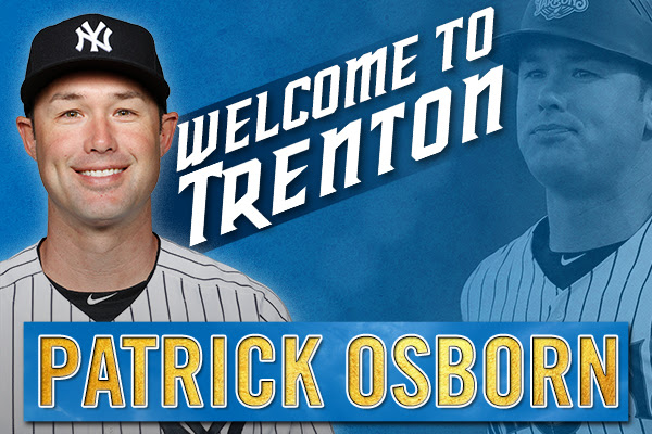 New Manager_Patrick Osborn