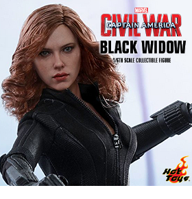 1/6 SCALE BLACK WIDOW FIGURE