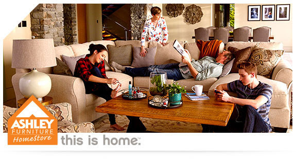 Ashley Furniture Up to 50% Off...
