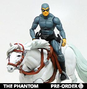 The Phantom Hero H.A.C.K.S. Phantom and Hero Figure and Steed Set