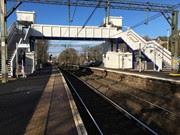 Westerton AFA bridge from Platform 2