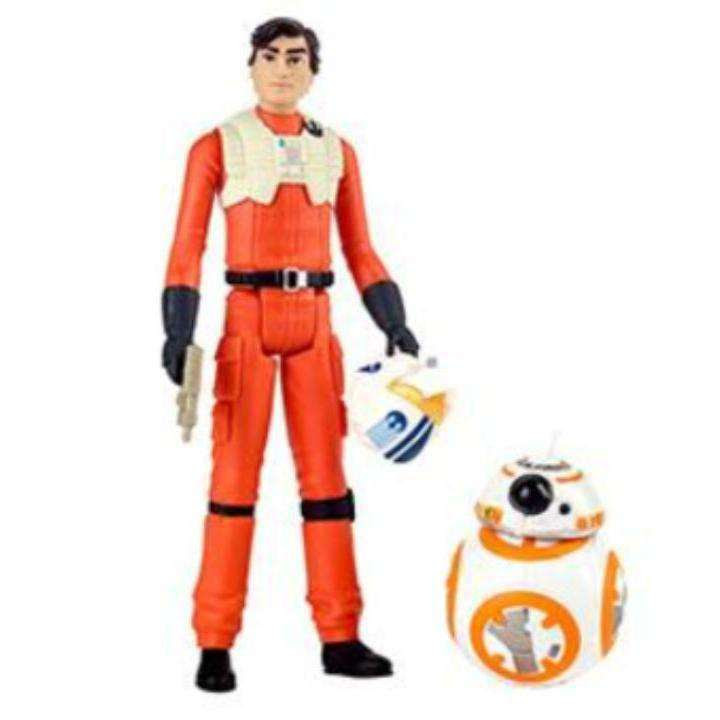 Image of Star Wars Resistance Action Figure 2-Packs Wave 1- Poe Dameron and BB-8 - MARCH 2019