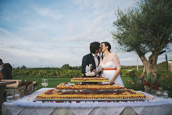 taglio della torta matrimonio anni 50