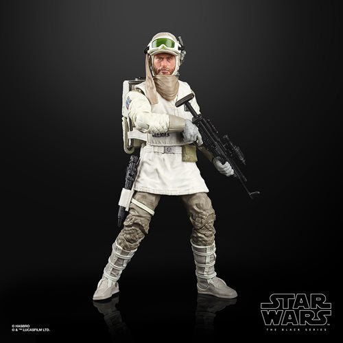 Image of Star Wars The Black Series Empire Strikes Back 40th Anniversary 6-Inch Hoth Rebel Soldier Action Figure Wave 2 - AUGUST 2020